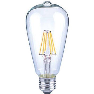 LAP ES ST64 LED Virtual Filament Light Bulb 470lm 4.5W (8827V)