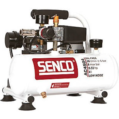 Senco AC4504 4Ltr  Electric Low Noise Compressor 110V (886PG)