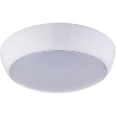 LAP Amazon LED Bathroom Ceiling Light with Microwave Sensor White 16W 1200lm (900FX)
