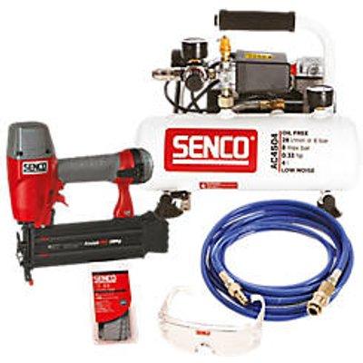 Senco AC4504 4Ltr  Electric Compressor and Finish Nailer Kit 230V (921PG)