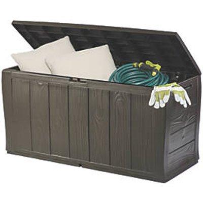 Keter Wood Effect Storage Box 4 x 2 x 2