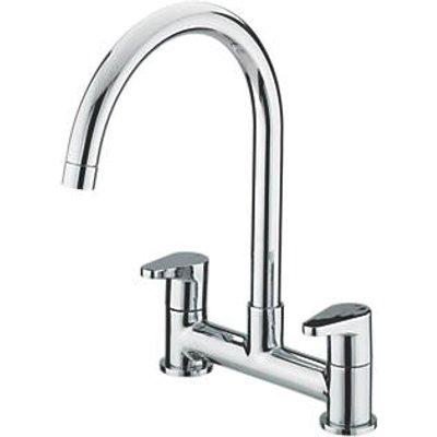 Bristan QST DSM C Quest Surface-Mounted Deck Sink Mixer Kitchen Tap Chrome (93711)