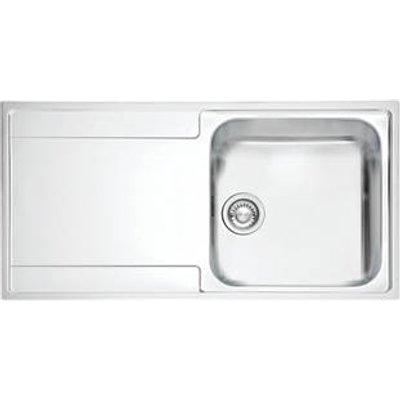 Franke Maris Slim Top Inset Kitchen Sink Stainless Steel 1 Bowl 1000 x 510mm (9435F)