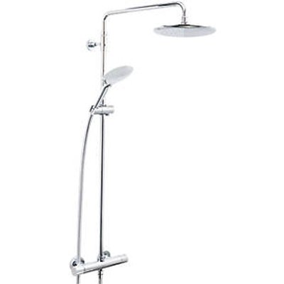 Bristan Carre Rear-Fed Exposed Chrome Thermostatic Mixer Shower (943JK)