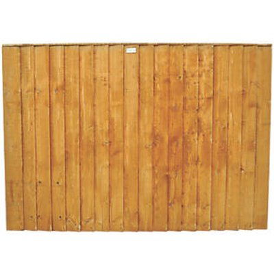 Forest Feather Edge Fence Panels 6 x 4