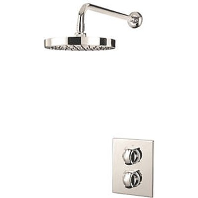 Triton Revere Rear-Fed Concealed Chrome Thermostatic Mixer Shower (9580F)