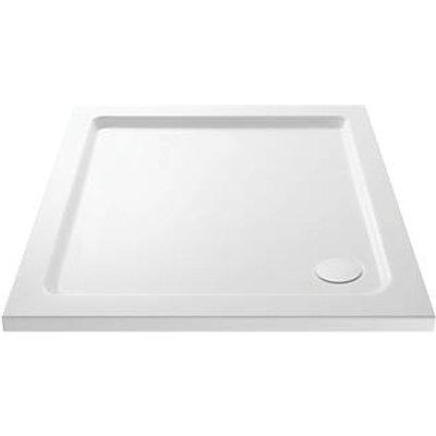 Cassellie  Square Shower Tray White 800 x 800 x 40mm (959JJ)