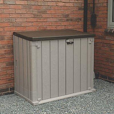 Forest Storage Unit 1300 x 750 x 1110mm Grey (982JG)