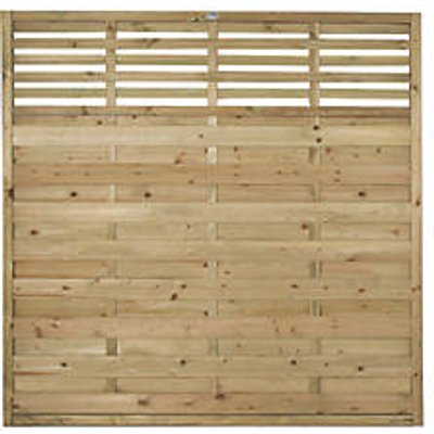 Forest Kyoto  Lattice Top Fence Panels 6 x 6