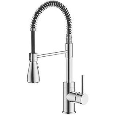 Watersmith Heritage Seville Pull-Out Spray Mono Mixer Kitchen Tap Chrome (9863P)