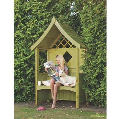 Shire Arum Arbour Green Wash 1240 x 650 x 2160mm (98853)
