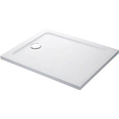 Mira Flight Safe Rectangular Shower Tray with 4 Upstands White 900 x 760 x 40mm (9907X)