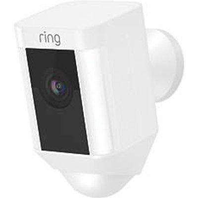 Ring Spotlight Black Wired 1080p Outdoor Camera with Spotlight with PIR Sensor (993GX)