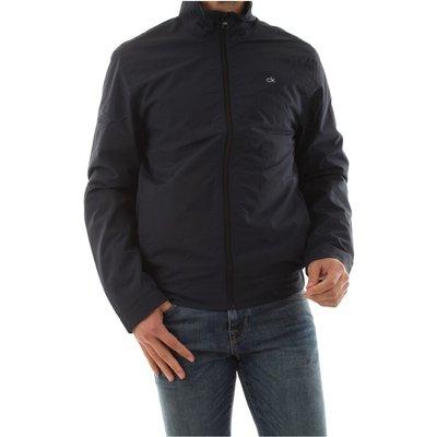 Calvin Klein K10K105264 Crinkle JKT Jacket AND Jackets Men Blu navy Calvin Klein | CALVIN KLEIN SALE