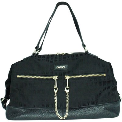 Black Canvas Satchel Dkny Vintage | DKNY SALE