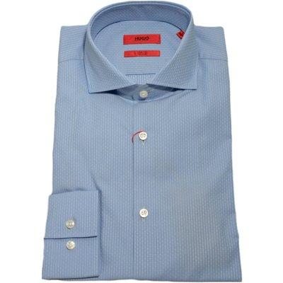 Hugo Boss, Camicia slim fit con motivo a righe 50373322 Blau, Größe: 38 | HUGO BOSS SALE