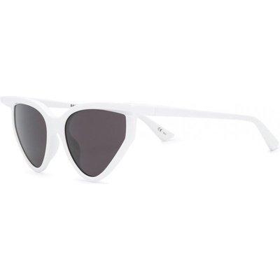 Balenciaga, Bb0101S 005 Sunglasses Weiß, Größe: 56 | BALENCIAGA SALE