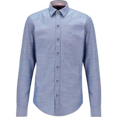 Hugo Boss, Stretch Oxford cotton slim fit shirt Blau, Größe: XL | HUGO BOSS SALE