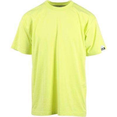 Golden Goose, T-Shirt mit Logo Gelb, Größe: XS | GOLDEN GOOSE SALE