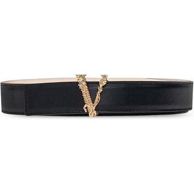 Versace, Virtus-Gürtel Schwarz, Größe: 80 cm | VERSACE SALE