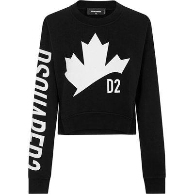 Dsquared2, Sweatshirt Schwarz, Größe: XS | DSQUARED2 SALE