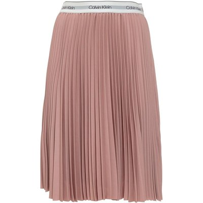 Calvin Klein, Skirt With Logo Pink, Größe: 38 IT | CALVIN KLEIN SALE