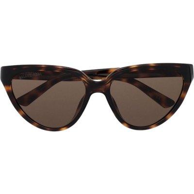 Balenciaga, Sunglasses Bb0149S 002 Braun, Größe: 56 | BALENCIAGA SALE