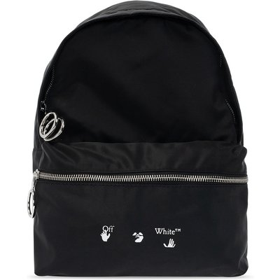 OFF-WHITE Backpack with logo Off White   OFF-WHITE SALE
