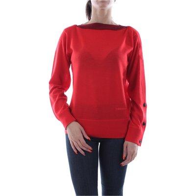 Calvin Klein K20K200970 Extrafine Wool Knitwear Women RED Calvin Klein   CALVIN KLEIN SALE