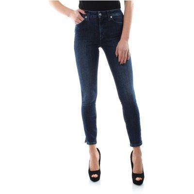 Calvin Klein K20K201702 Skinny Jeans Women Denim Dark Blue Calvin Klein | CALVIN KLEIN SALE