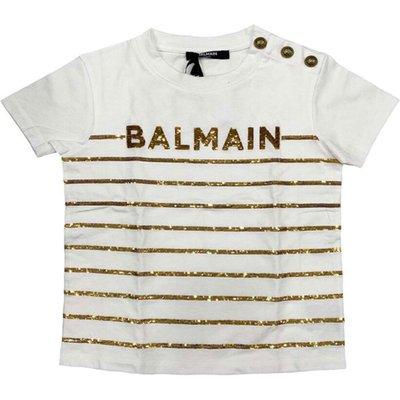 Balmain, T-shirt Weiß, Größe: 8y | BALMAIN SALE