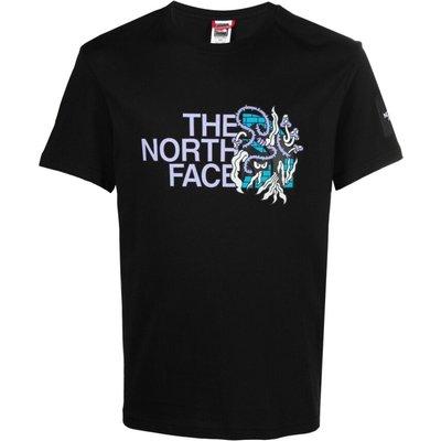 The North Face, T-shirt manica corta con dettaglio logo colorato Schwarz, Größe: XL | THE NORTH FACE SALE