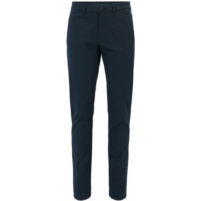 Hugo Boss, Hugo Boss trousers with satin finish - Blue, 46 Blau, Größe: W46 | HUGO BOSS SALE