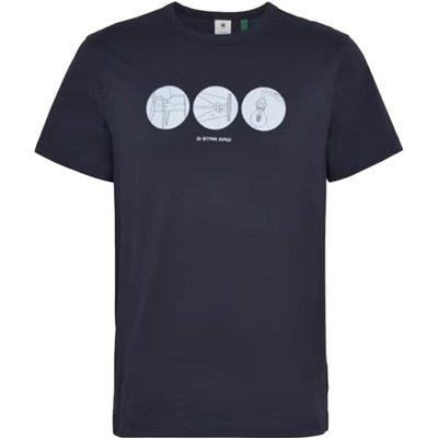 G-star, T-shirt Blau, Größe: M   G-STAR SALE