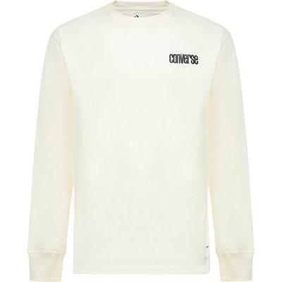 Converse, Sweatshirt Beige, unisex, Größe: S | CONVERSE SALE