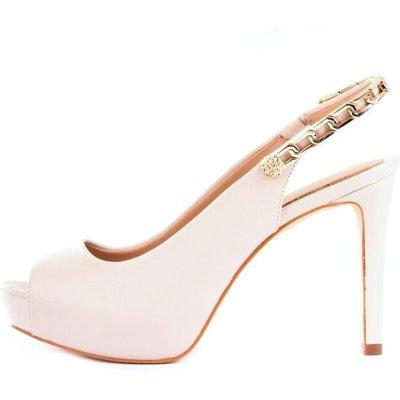 Guess Fl5Edylea05 Sandal Women Ivory Guess   GUESS SALE