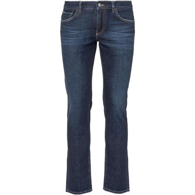 Dolce & Gabbana, Jeans With Patch Logo Blau, Größe: 48 IT | DOLCE & GABBANA SALE