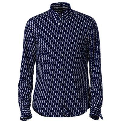 Hugo Boss, Shirt Blau, Größe: 44 | HUGO BOSS SALE