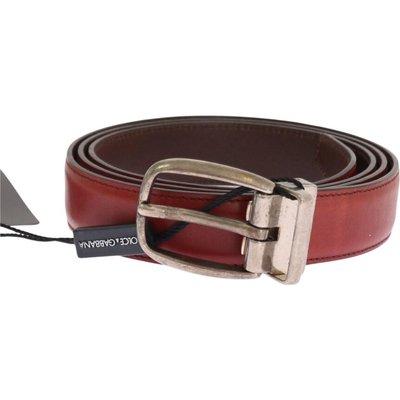 Dolce & Gabbana, Schnallengürtel Rot, Größe: 110 cm   DOLCE & GABBANA SALE