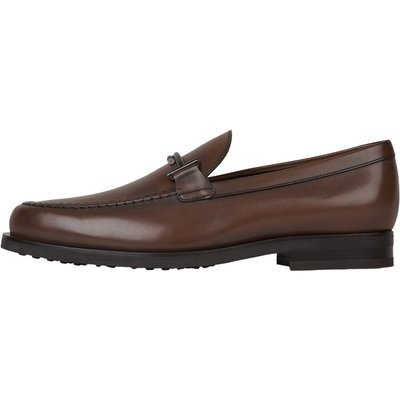 Smooth leather moccasins with mask Tod's | TOD'S SALE