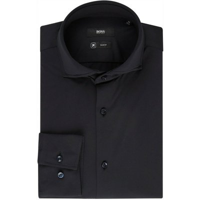 Hugo Boss, Shirt Schwarz, Größe: 40 | HUGO BOSS SALE