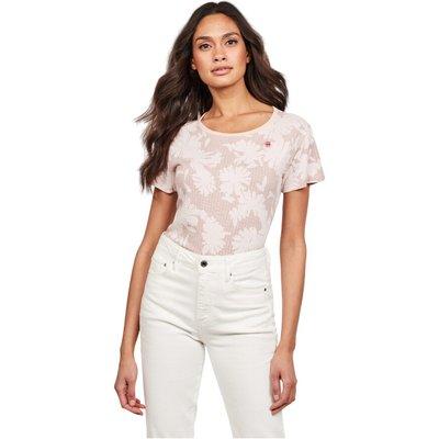 G-Star D16268 C224 Gyre Allover T Shirt AND Tank Women Pink G-star   G-STAR SALE
