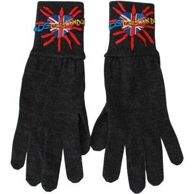 Dolce & Gabbana, Handschuhe Grau, Größe: One size | DOLCE & GABBANA SALE