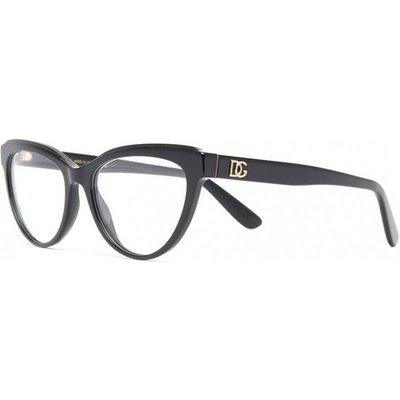 Dolce & Gabbana, glasses Dg3332 501 Schwarz, Größe: 54   DOLCE & GABBANA SALE