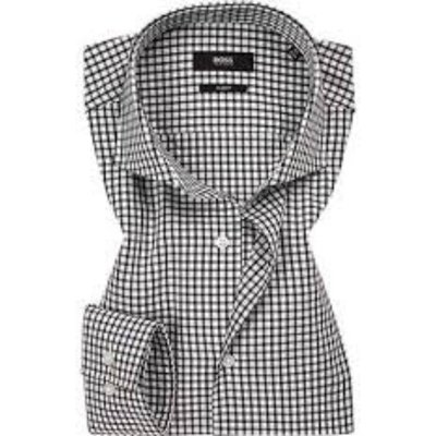 Hugo Boss, Shirt Weiß, Größe: 43 | HUGO BOSS SALE