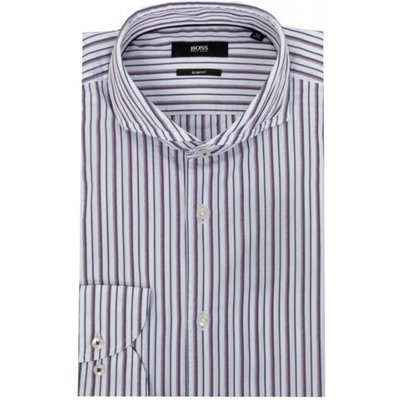 Hugo Boss, Shirt Weiß, Größe: 42 | HUGO BOSS SALE