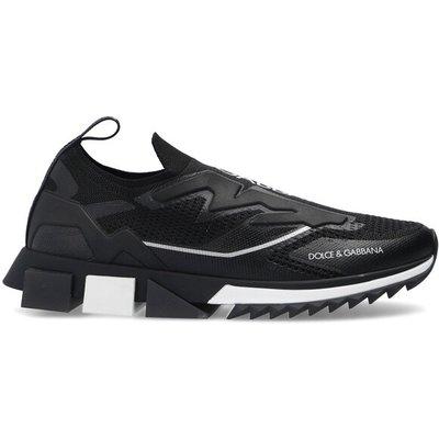 Dolce & Gabbana, Sorrento Sneakers Schwarz, Größe: 44 1/2   DOLCE & GABBANA SALE