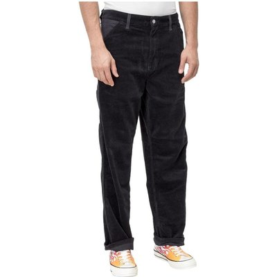 Carhartt Wip, Ribbed and Velvet Trousers Schwarz, Größe: W36 | CARHARTT SALE