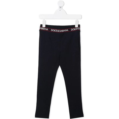 Dolce & Gabbana, Leggings Blau, Größe: 6y | DOLCE & GABBANA SALE