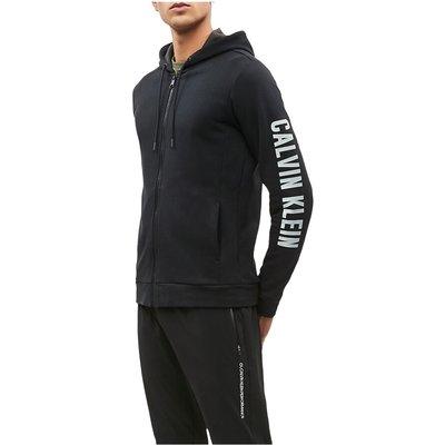 CK Performance 00Gmh9J473 Full ZIP Sweater Men Black Calvin Klein | CALVIN KLEIN SALE